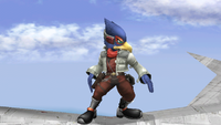 Falco Idle Pose 1 Brawl.png