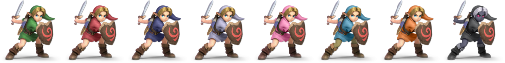Young Link Palette (SSBU).png