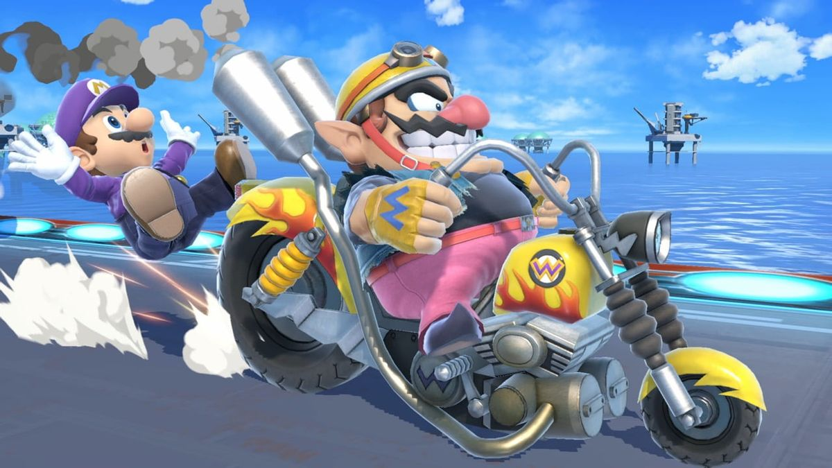 Wario Bike Smashwiki The Super Smash Bros Wiki